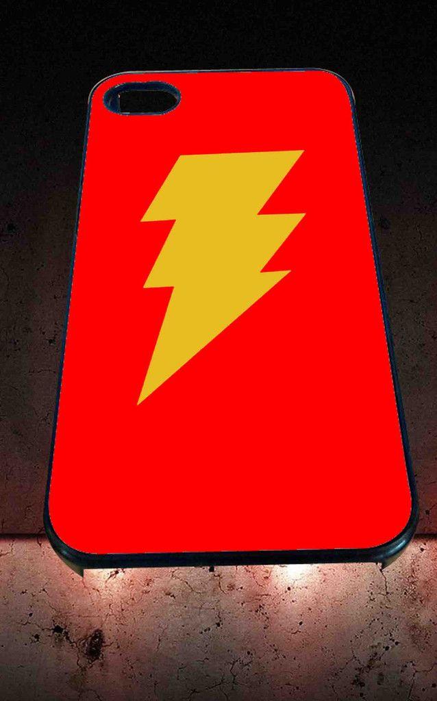 Captain Shazam Superhero Comics for iPhone 4/4s, iPhone 5/5S/5C/6, Samsung S3/S4/S5 Unique Case *76*