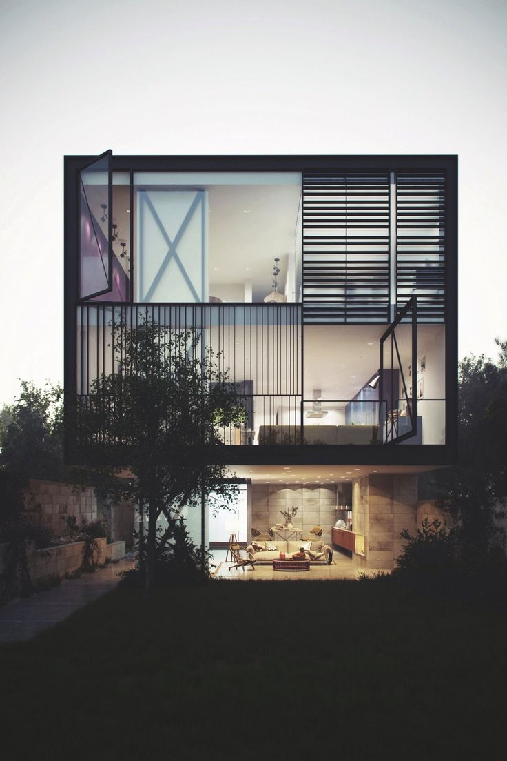 103 besten HAUS Bilder auf Pinterest   Moderne häuser ...