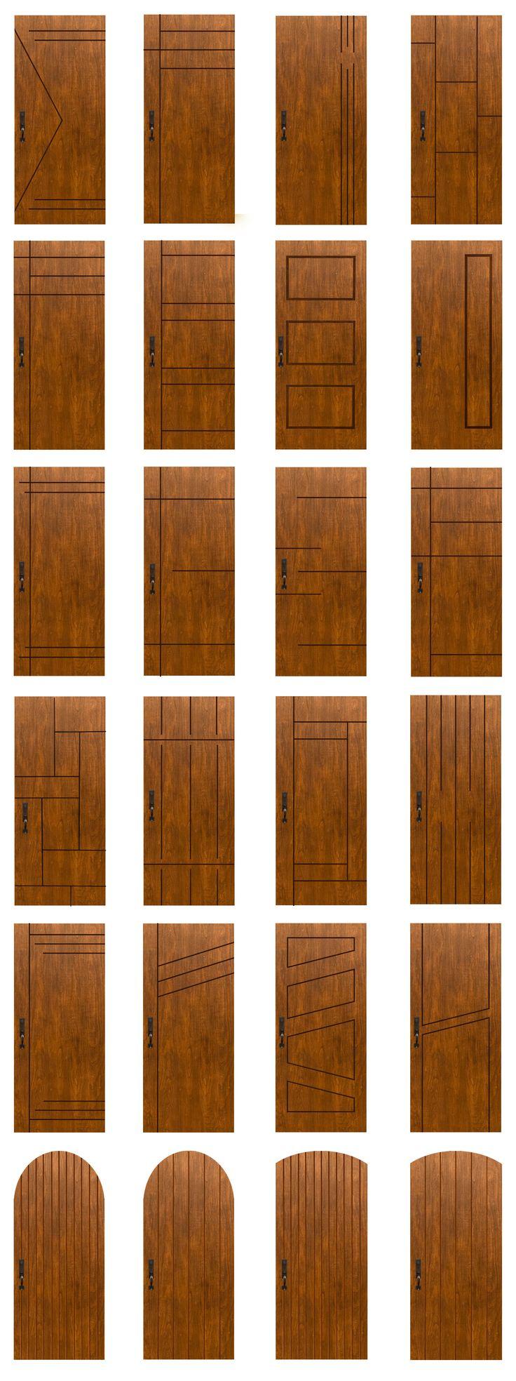 MasterGrain's Contemporary Design Possibilities. Custom CNC machined looks for endless possibilities! #Contemporary #Modern #CNC #Custom #Premium #Fiberglass #Doors #MasterGrain