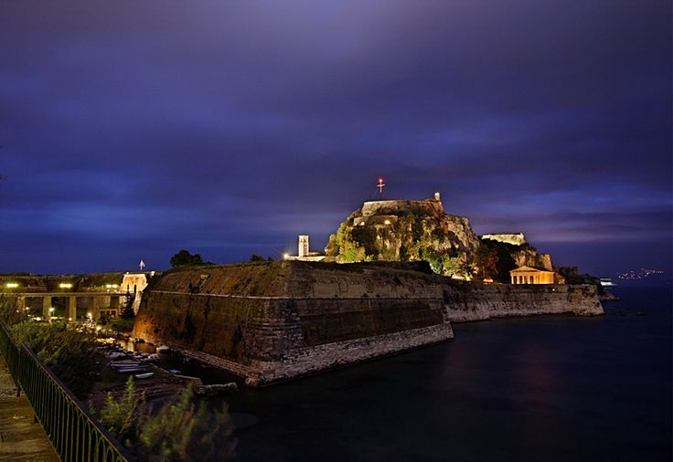 the Old Fortress and the Night