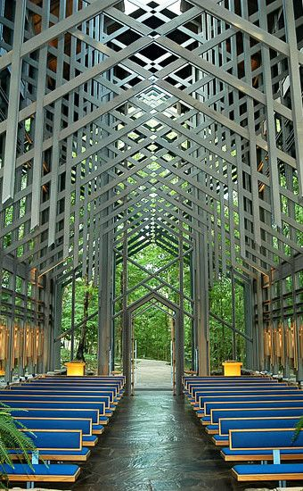 Thorncrown Chapel   Travel   Vacation Ideas   Road Trip   Places to Visit   Eureka Springs   AR   Church   Monument   Offbeat Attraction   Place of Worship   Architectural Site   Scenic Point