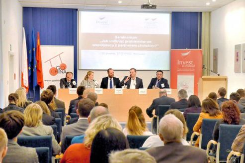Polish Information and Foreign Investment Agency held the 6 th training courses on doing business in China. - China was very late to Europe especially to Central Europe. Thus, knowledge of China about Poland is negligible - commented Polish Information and Foreign Investment Agency president Slawomir Majman.