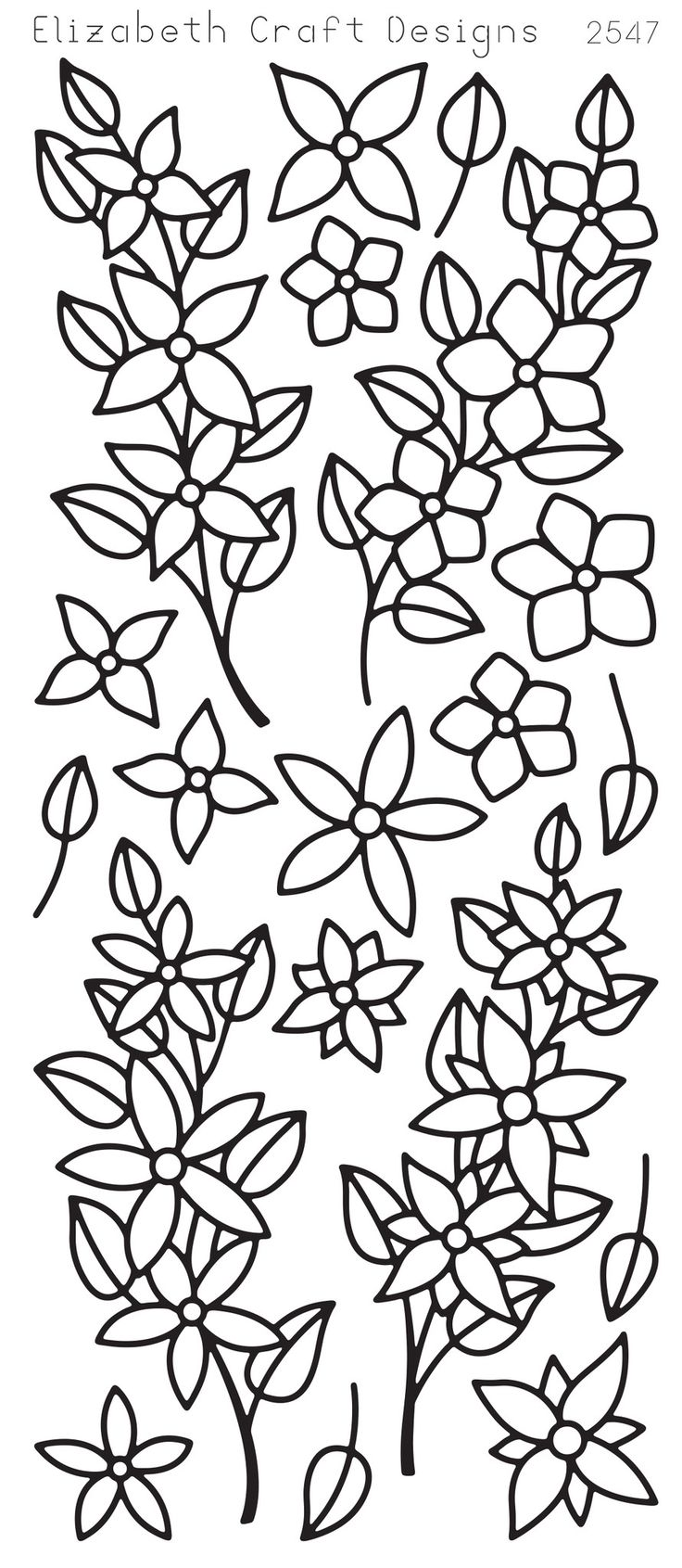 Vine Coloring Patterns Coloring Pages