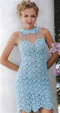free pattern summer dress - Crochet Me