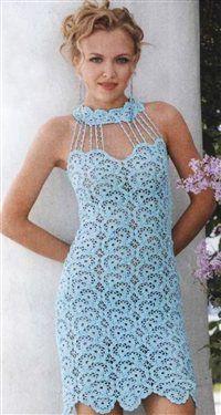 free pattern summer dress - Crochet Me