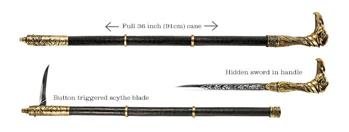 assassin's creed syndicate cane sword - Google Search