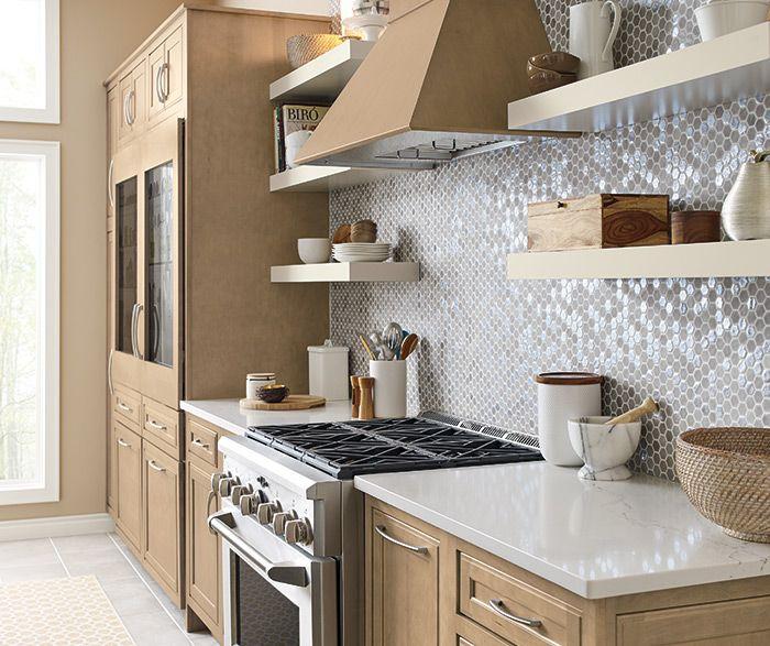 On Trend Transitional Kitchen Diamond Cabinetry Transitional Kitchen Design Transitional Kitchen Kitchen Design Styles