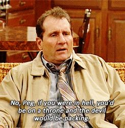 Married... with Children. Such a great and funny show.