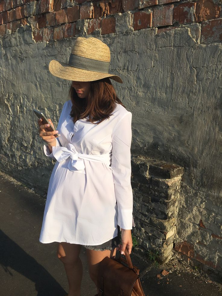 pregnancy, week 36, outfit, maternity, white shirt dress
