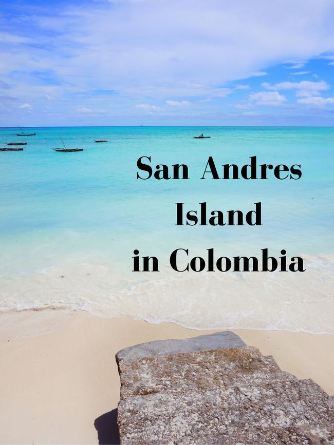 San Andres Island. Travel in South America.
