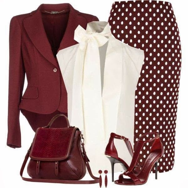 jacket cropped, shirt with bow, bag unusual shape, skirt with catchy print - gamine yet classic with dramatic lines