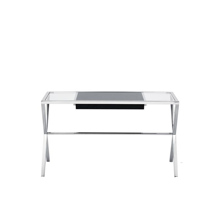 Helix Stainless Steel Desk from Domayne Online