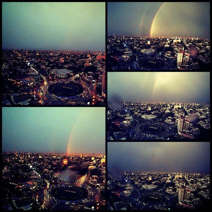 Rainbow in Guadalajara,Jalisco,México
