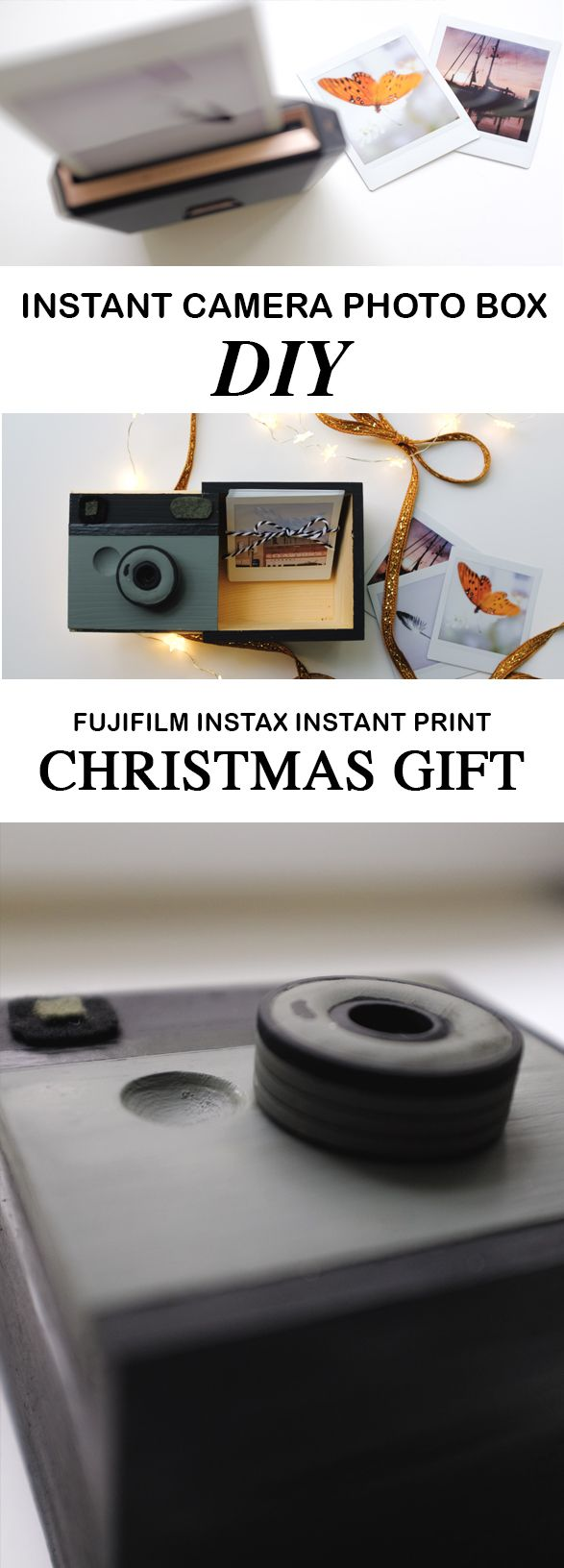 Instant camera fujifilm instax diy photo gift simply living nc