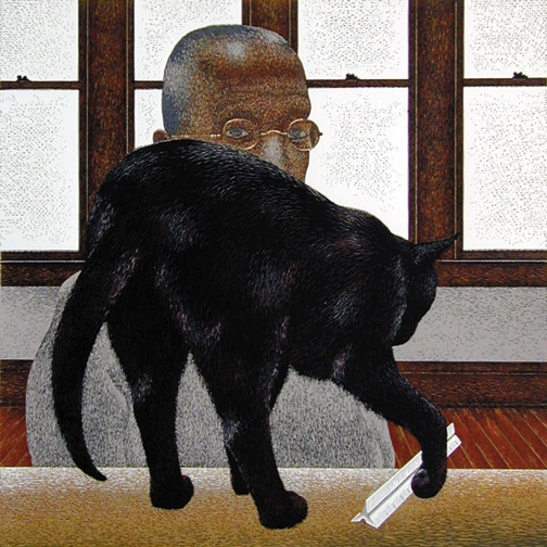 Alex Colville: Black Cat, 1996