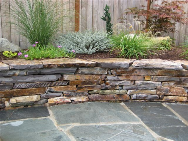 flagstone retaining wall detail three rivers flagstone patio outdoor landscapinglandscaping ideassweet