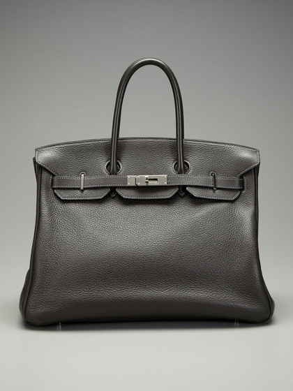 hermes pocketbook - Hermes 35cm Togo Graphite Birkin Bag by Hermes on Gilt.com ...