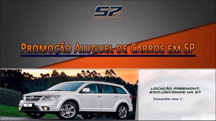 Promoção Aluguel de Carros em SP - S7 Locadora