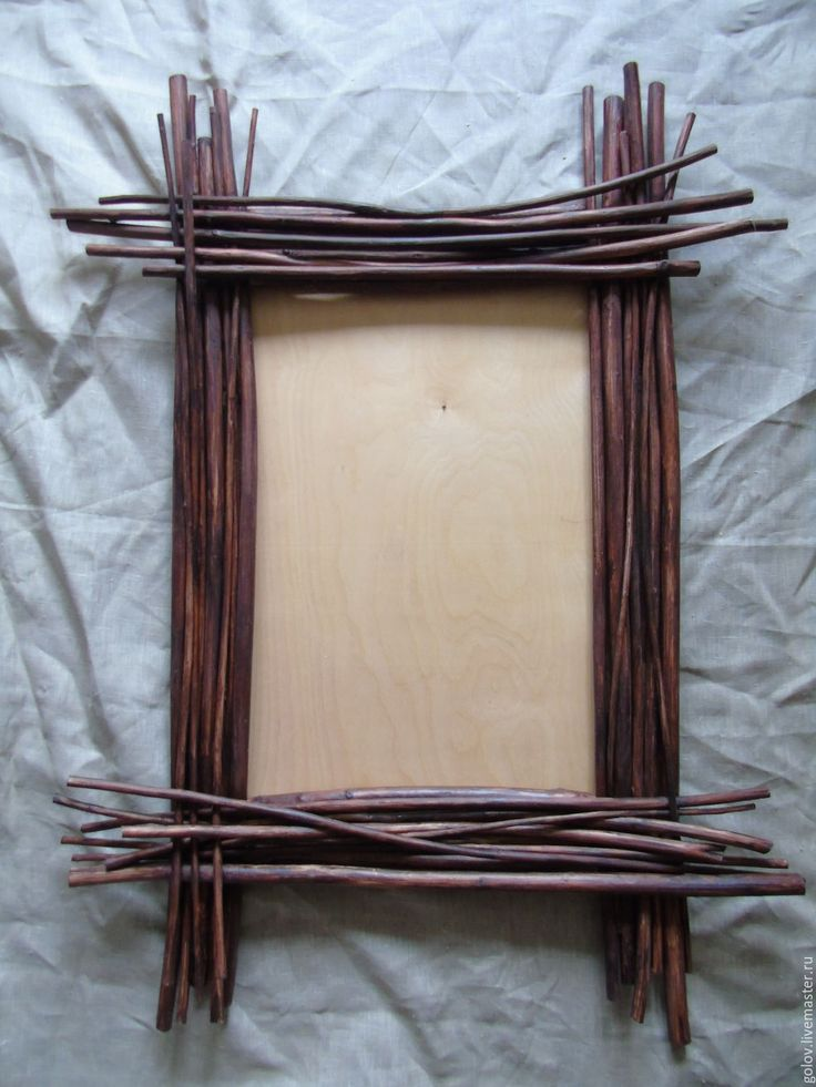 Купить рама для зеркала лесная - коричневый, рама для зеркала, зеркало, Рама для картин, панно, рама
