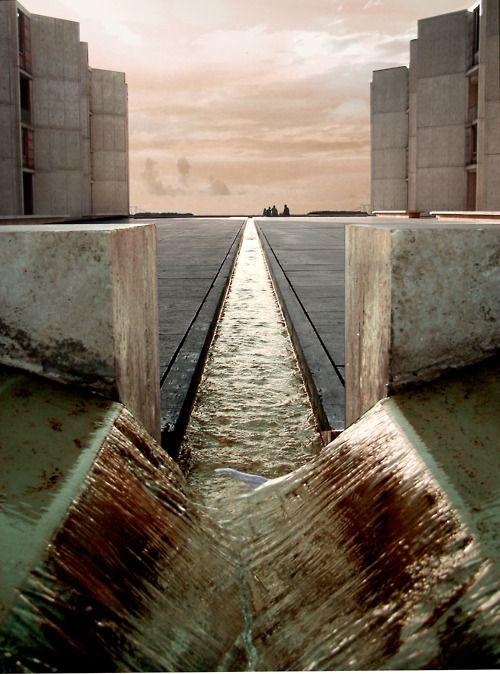 Salk Institute by Louis Kahn