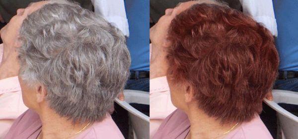 Как избавиться от седины без окрашивания и поддержать насыщенный цвет волос |