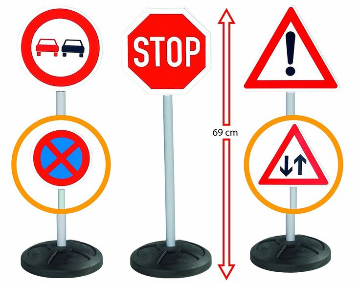 Big Ride On Accessories Traffic Signs: Amazon.co.uk: Toys & Games