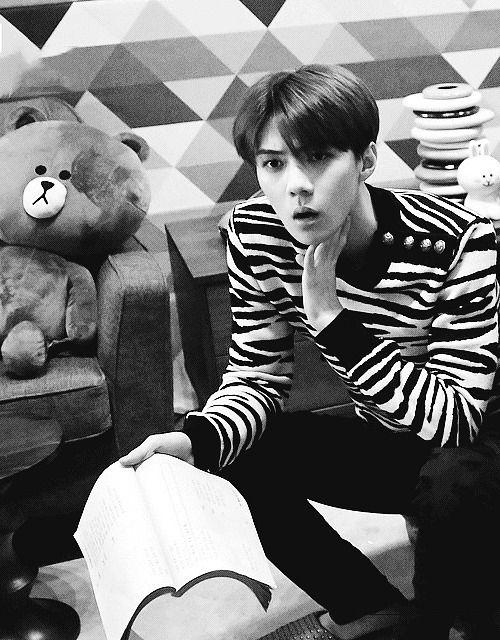Foto: #Sehun #EXO #SEXY #handsome #Playboy