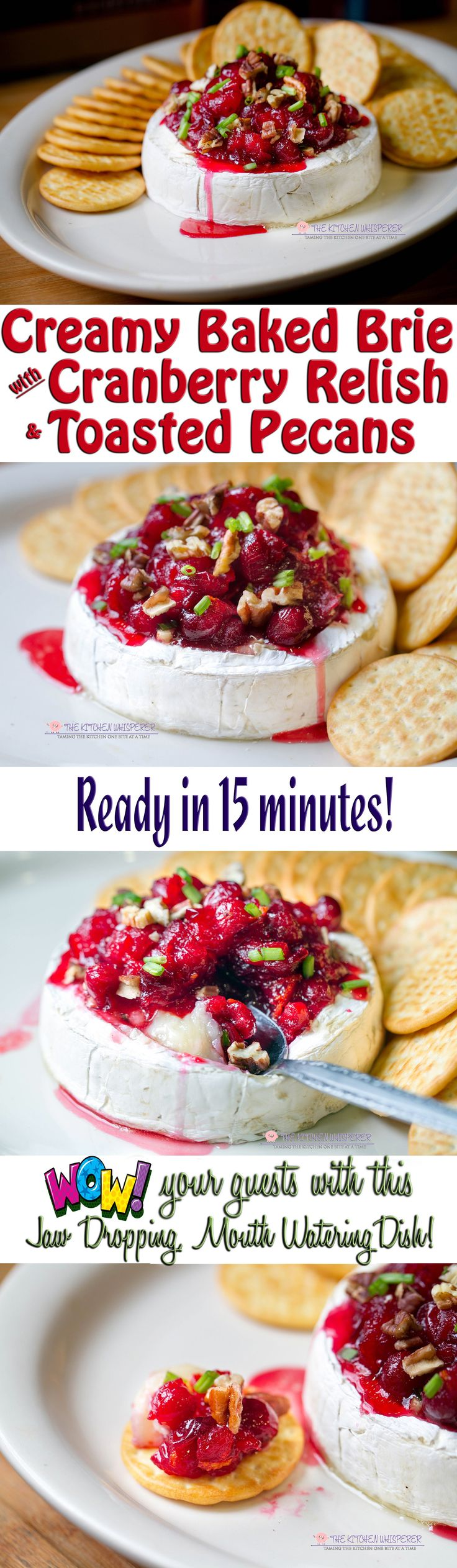 baked-brie-with-cranberry-relish-and-pecans-collage2