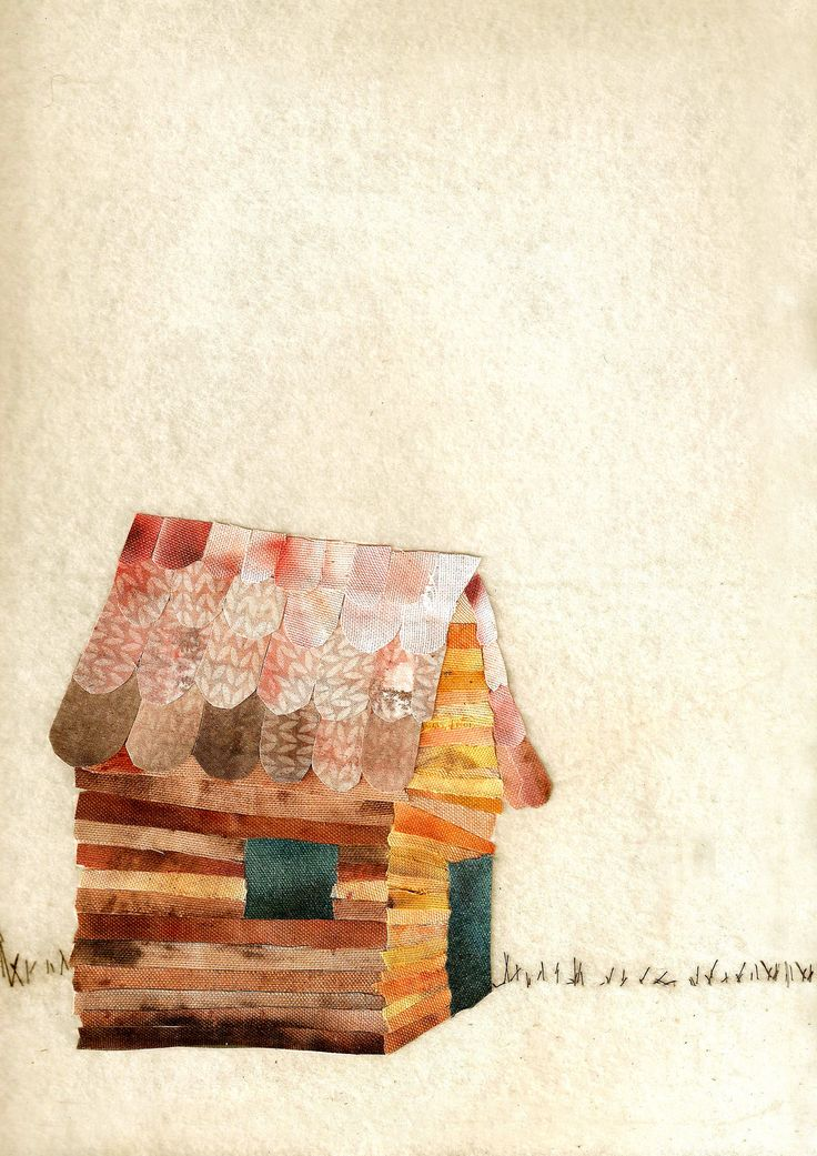 A Home Painted fabric on felt Cassandra King