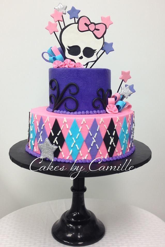 Monster High cake. Monster High birthday.