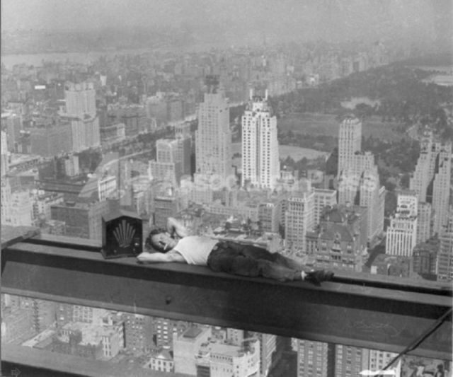 iron worker - nap time?!?