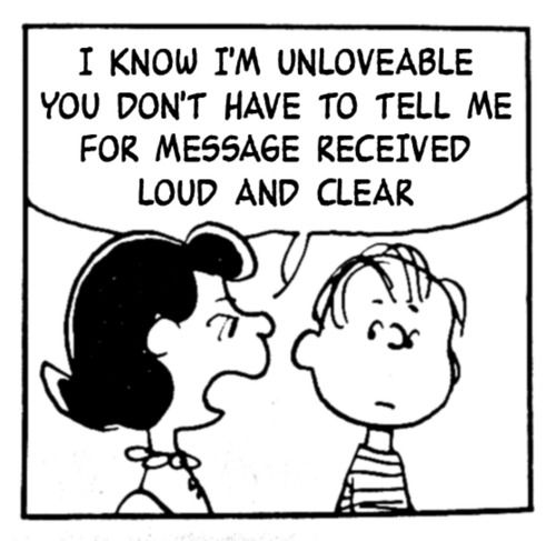 peanuts the smiths unlovable Lucy van Pelt this charming charlie ...
