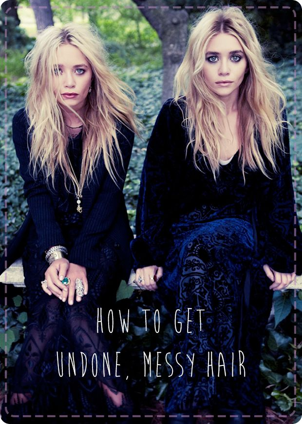 Looking for the perfect laid-back hairstyle to help you make the most of your time in the sun? Check out our guide on how to get undone, messy hair. FINALLY! I have found the secret to perfectly messy hair.