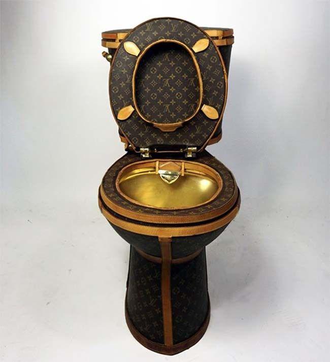 Louis Vuitton Toilet #louisvuittontoilet