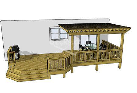 deck plan, flip it though, for our house!