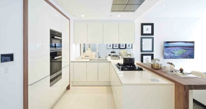 230 best kitchens images on pinterest modern kitchens for Residential interior designers london