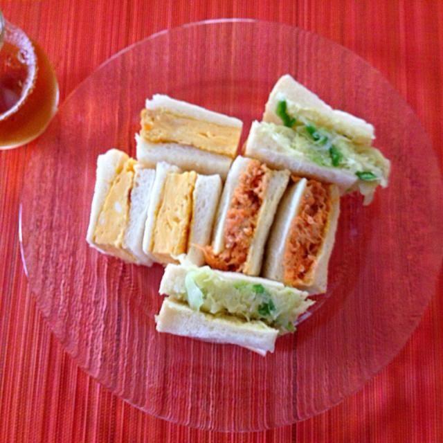 ふわふわ卵 ツナキャロット キャベツピーマン炒め - 22件のもぐもぐ - Branch sandwich Saturday☕️ by keico