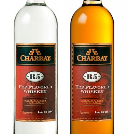 Charbay R5 Aged Whiskey  This whiskey starts life as Bear Republic's piney, citrusy Racer 5 IPA, before it's distilled and sent to slumber in new oak barrels for more than a year. The result is a hoppy, heavenly hybrid fit for beer geeks and whiskey fiends alike. klwines.com