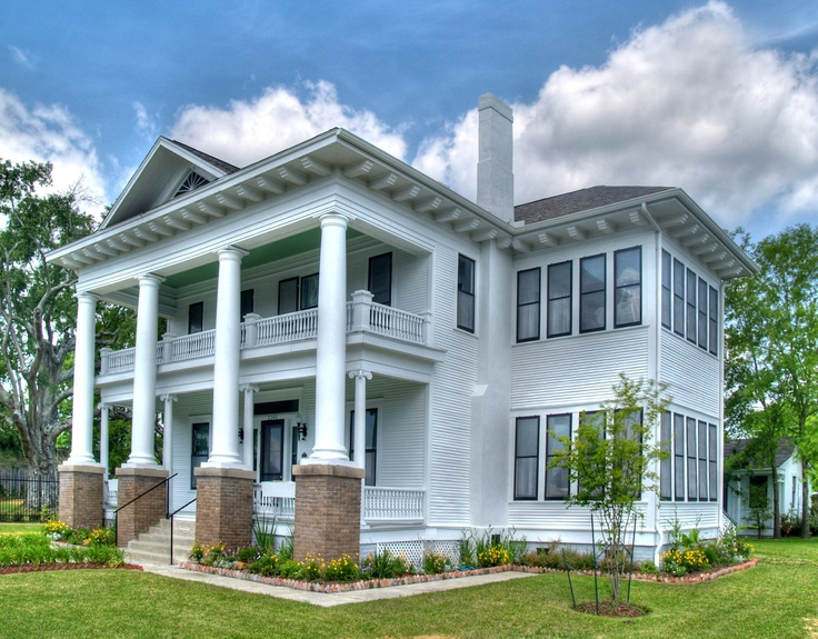 Awesome Chambers House Museum   Beaumont, Texas. Built In 1906, The Chambers House  Tells The Intriguing Story Of A Family That Lived In The Home For 100 Yeu2026