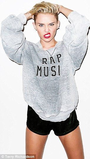 miley cyrus new grabing crotch add campaign | Bad girls do it well: Miley Cyrus twerks upside down in edgy new Terry ...