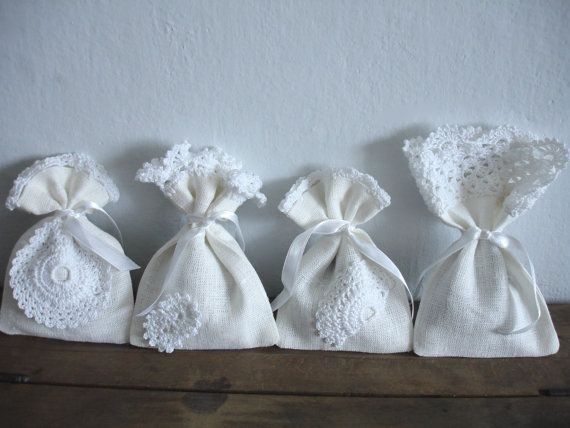 Lavender Bags Set of 4 by Limonera on Etsy