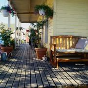 What to Put Under a Second Story Deck to Keep It From Dripping Onto a Patio Below | eHow