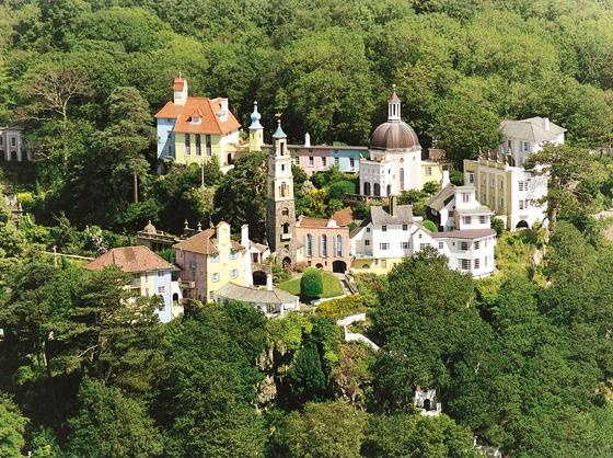 Clough Williams-Ellis built Cottages - Port Meirion, Gwynedd- Welsh - Might be good for family holiday.