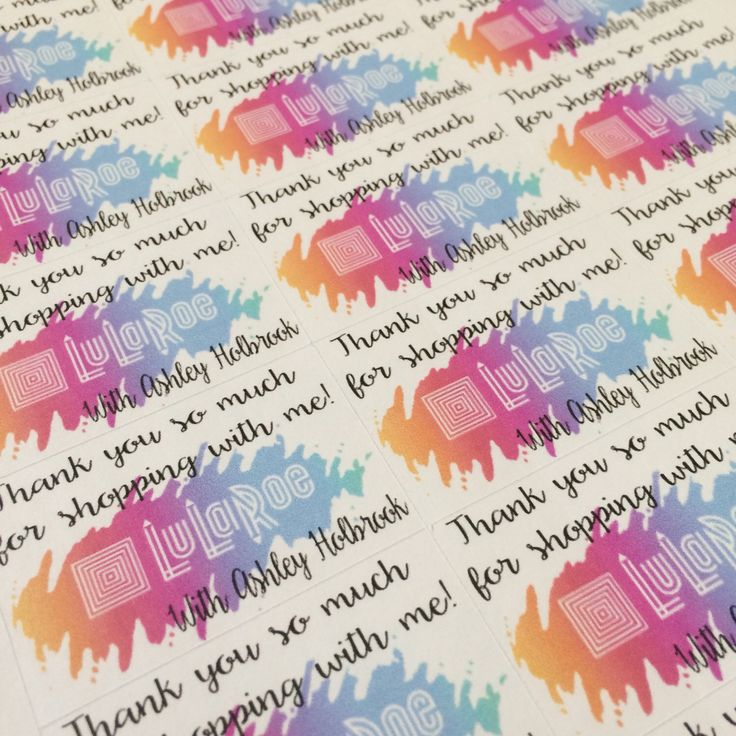 LuLaRoe Consultant Packaging Stickers with name | Direct Sales Planner Stickers | Order Supplies | Pop Up Boutique | Online boutique by ShopBowAndSparrow on Etsy https://www.etsy.com/listing/271110128/lularoe-consultant-packaging-stickers