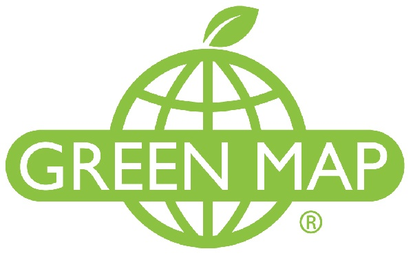 Greenmap  Green Map System promotes inclusive participation in sustainable community development worldwide, using mapmaking as our medium. Green Map supports locally-led map projects as they create perspective-changing community 'portraits' which act as comprehensive inventories for decision-making and as practical guides for residents and tourists.