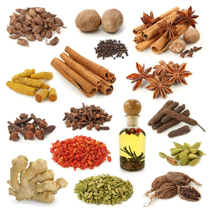 Spices in Kerala Spices and herbs, List of spices