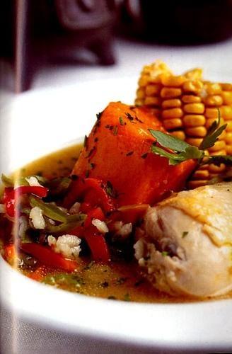 Cazuela de ave  Un típico y exquisito plato Chileno