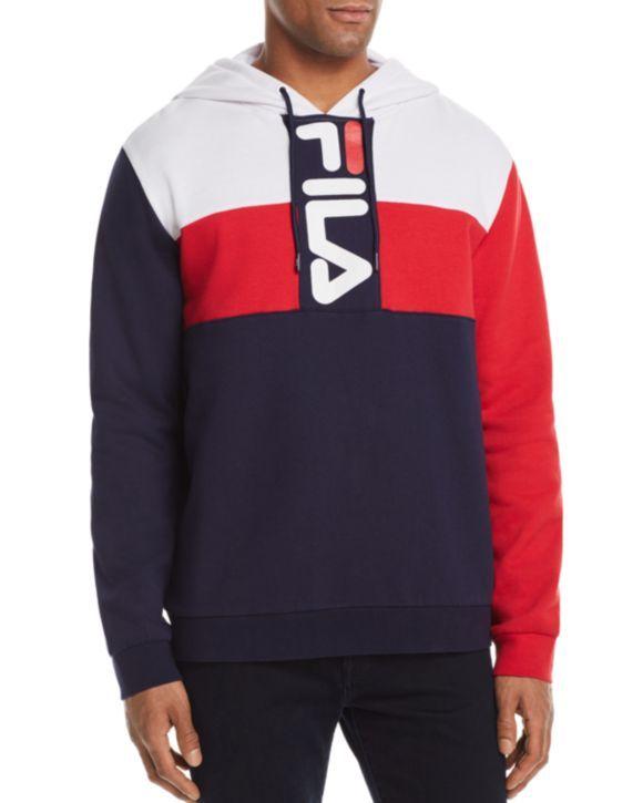 6fc0162c24bf FILA Ollie Color-Blocked Logo Hoodie Men - Hoodies & Sweatshirts -  Bloomingdale's