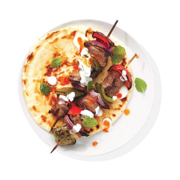 Spiced Beef Kebabs With Yogurt 10 Easy Sirloin Steak Recipes ❤ liked on Polyvore featuring food, food and drink, fillers and food&drink