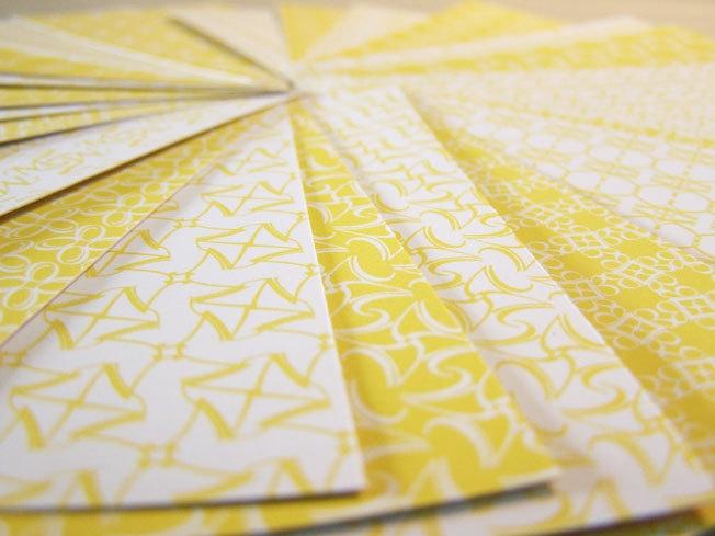 Masking Sticker Set - 66 sheets - Yellow